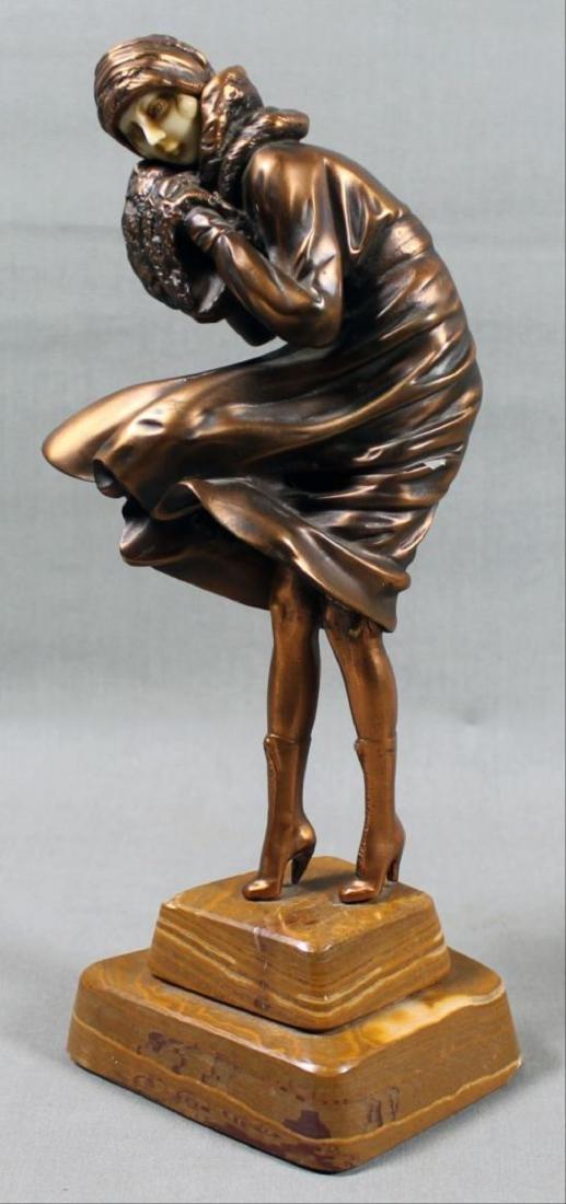Varonese Art Deco Figure - 2