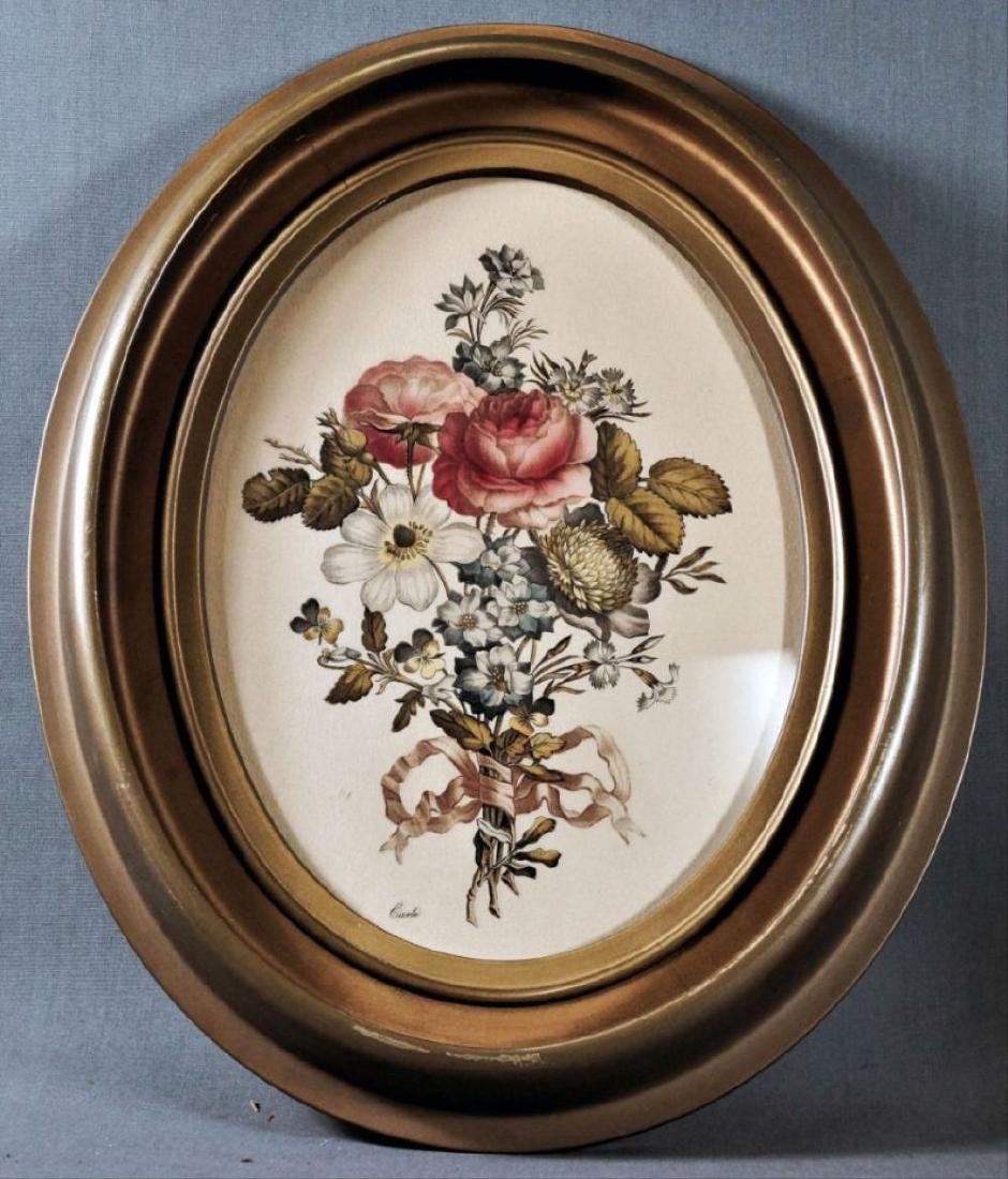 C 1900'S Floral Carle Painting