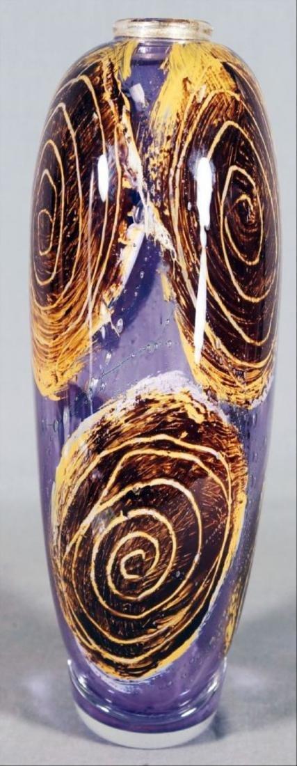 Art Glass Vase - 4
