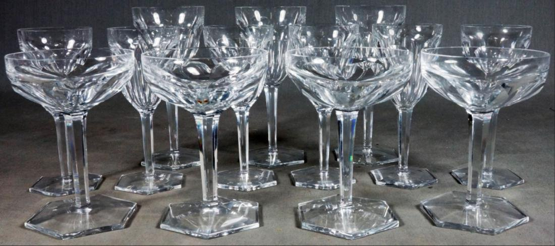 10 Pieces Of Baccarat Crystal - 2