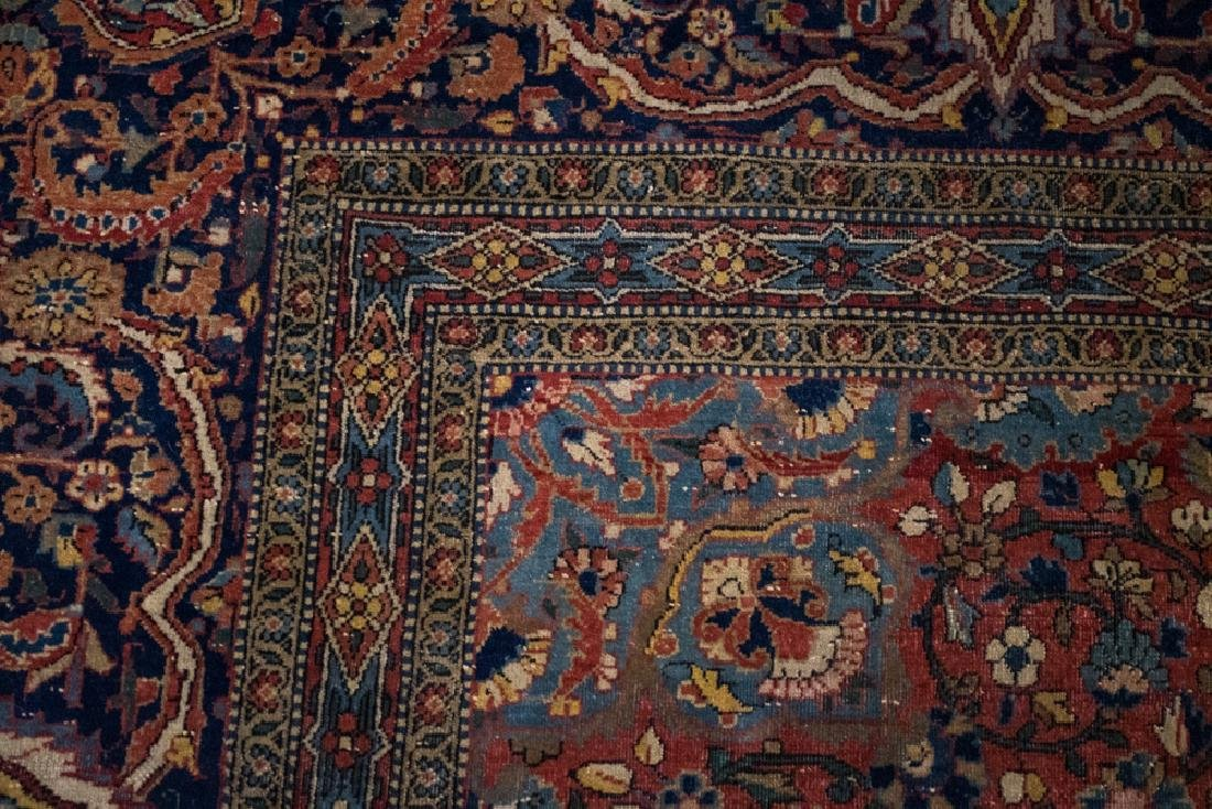 Antique Persian Tabriz Carpet - 3