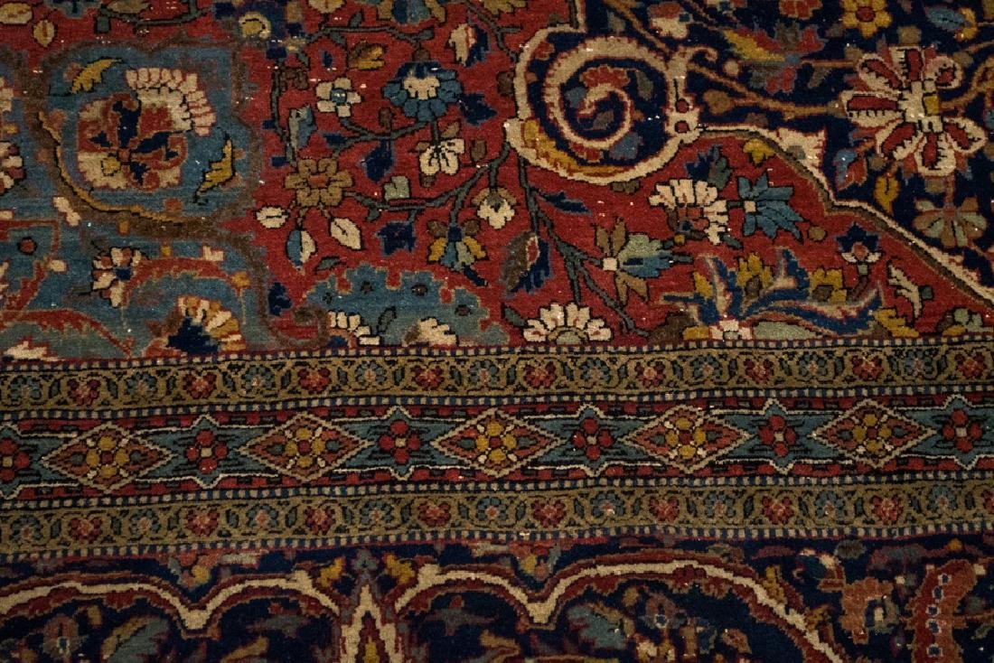 Antique Persian Tabriz Carpet - 6