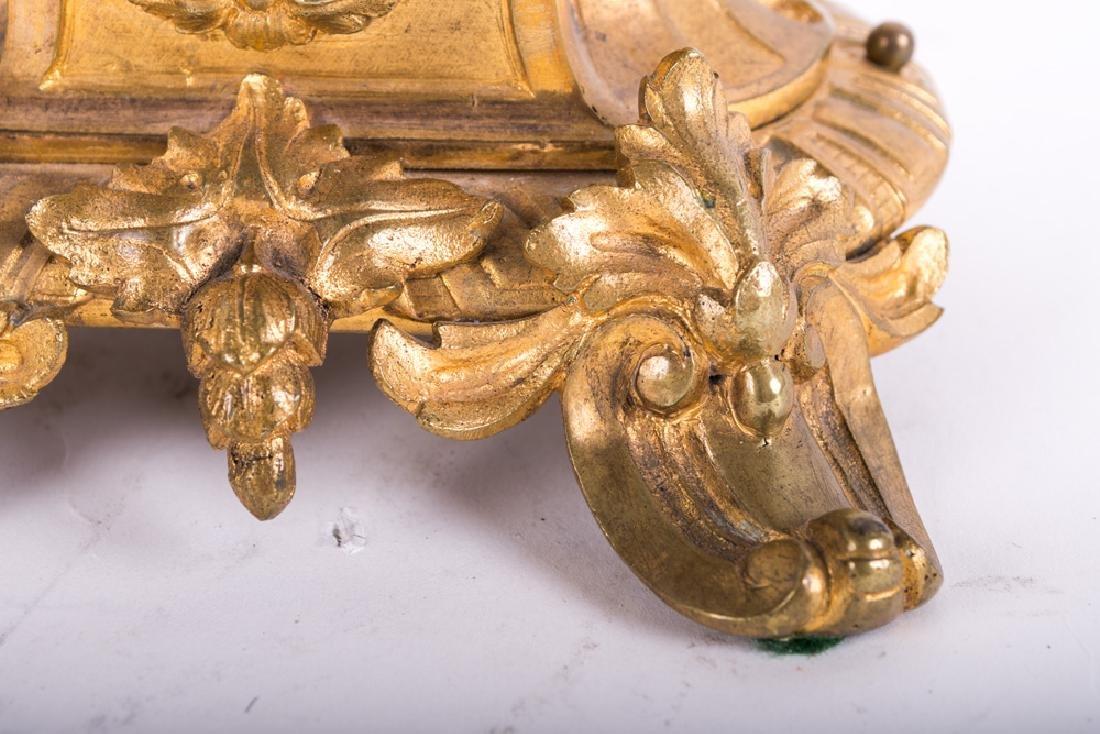 Pair Of Louis Xv Style Gilt Bronze Figural Candelabra - 2