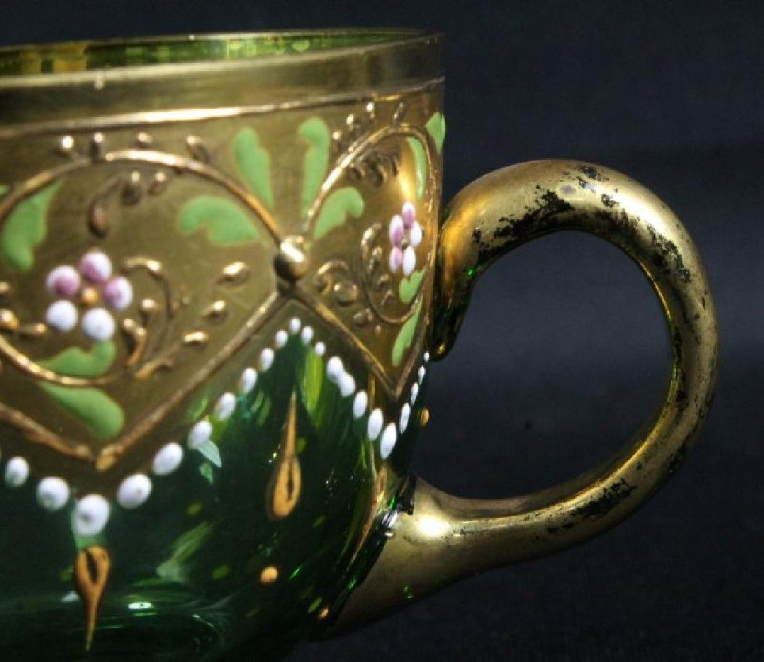 Moser Cup And Saucer - 3