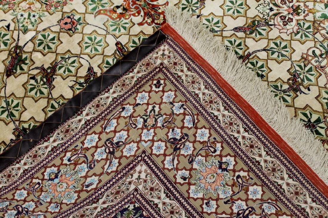 Qum Silk Rug Iran - 4