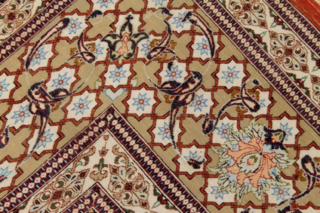 Qum Silk Rug Iran - 5