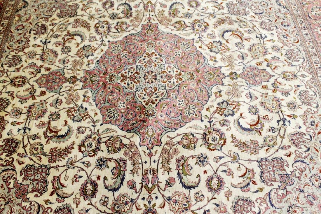 Qum Silk Rug Iran - 2