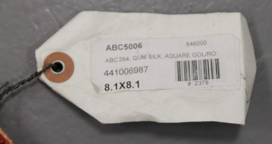 Qum Silk Rug Iran - 6