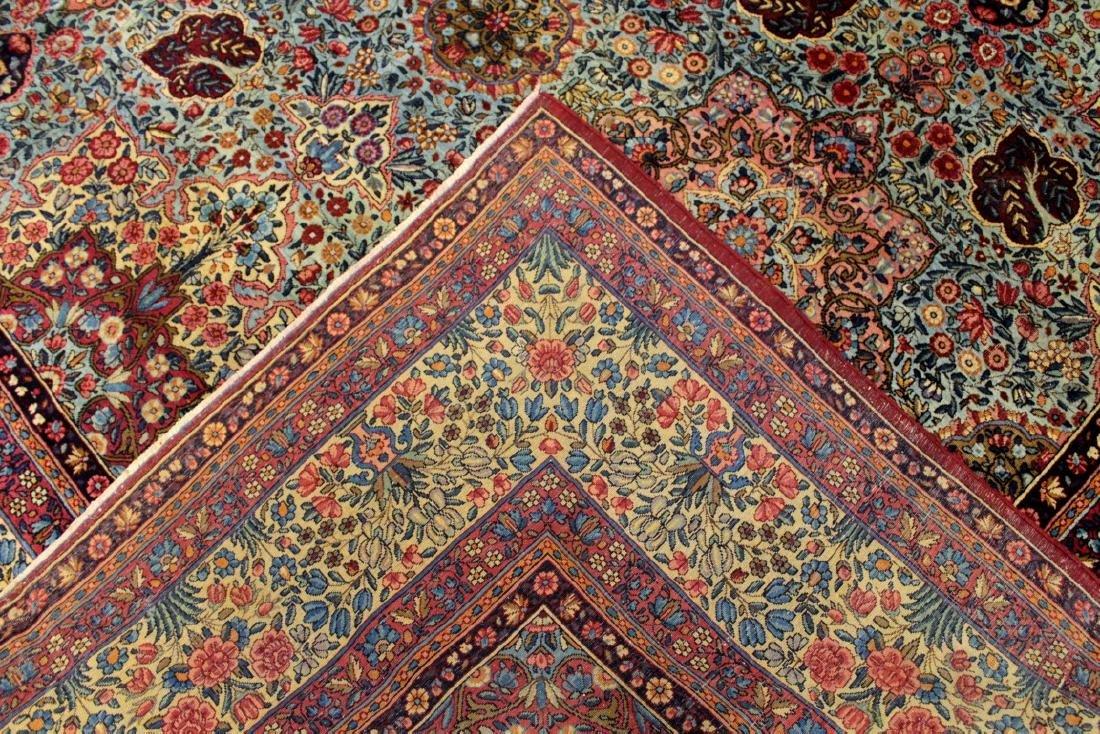 Kerman Lavar Rug Iran - 5
