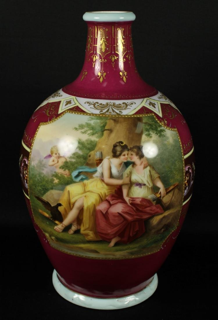 Royal Vienna Vase - 2