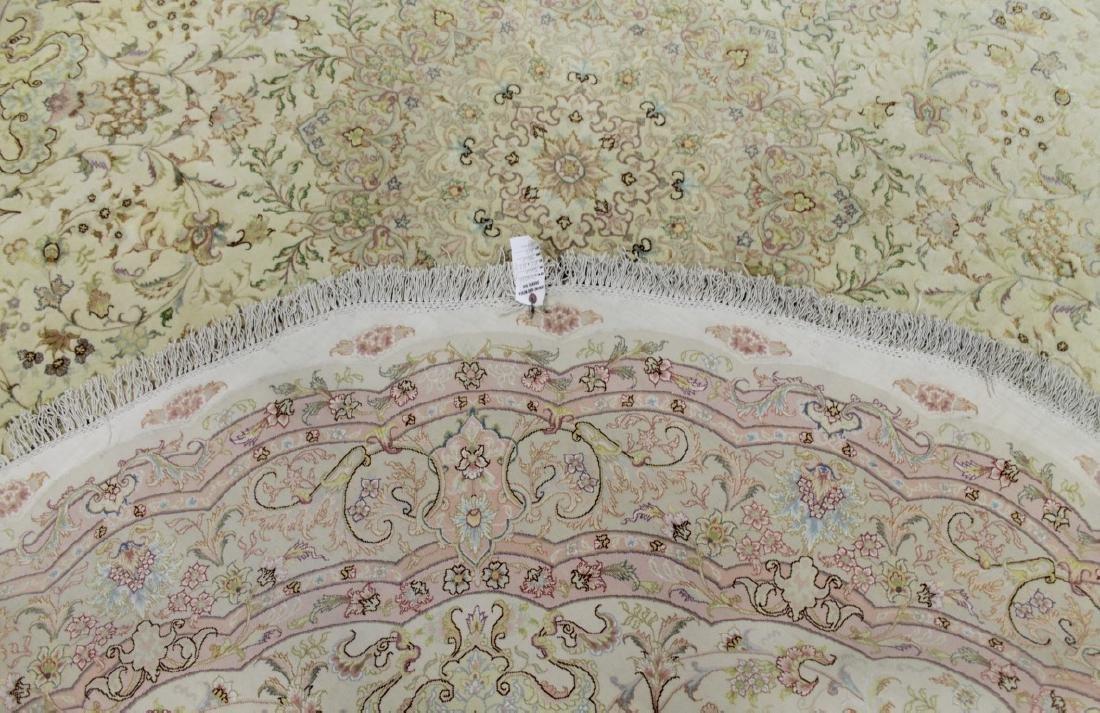 Tabriz Rug With Silk Iran - 4