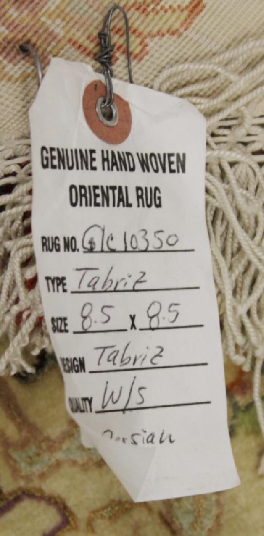 Tabriz Rug With Silk Iran - 6