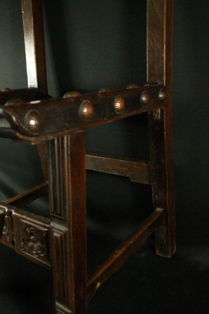 Pair Of Leather Chairs - 5