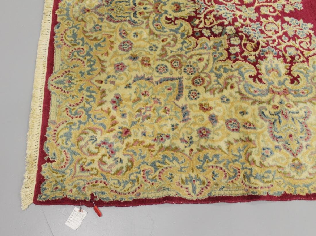 Antique Kerman Rug Iran - 3