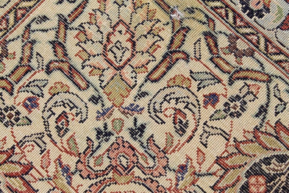 Antique Sarouk Wool Rug - 4