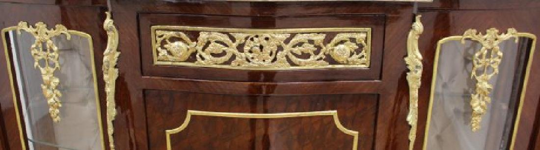 Louis Xv Style Marble Top Sideboard - 5