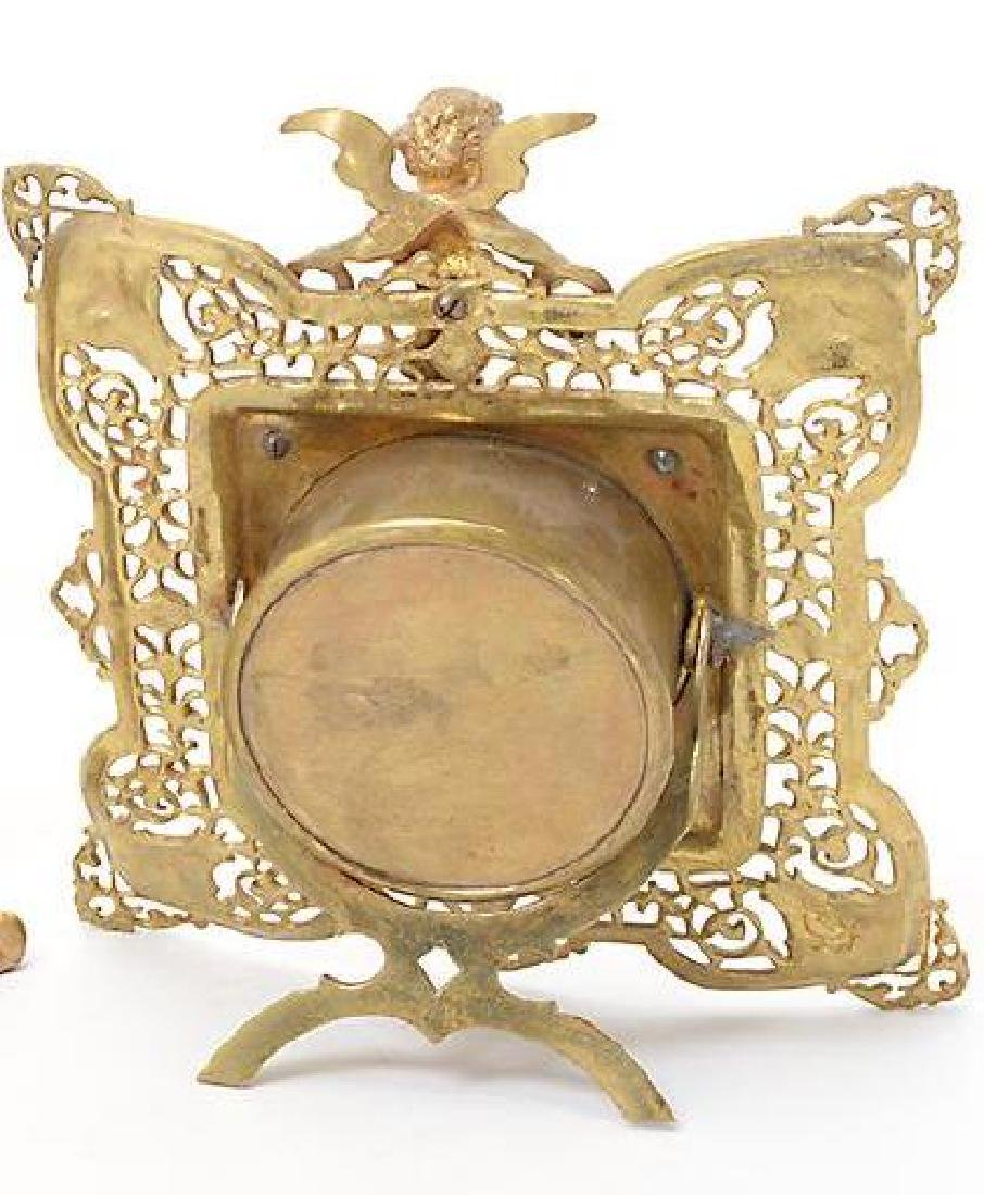 Louis Xv Style Figural Clock - 2