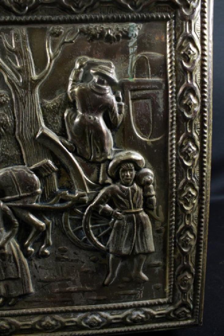 Bronze Detailed Trinket Box - 2