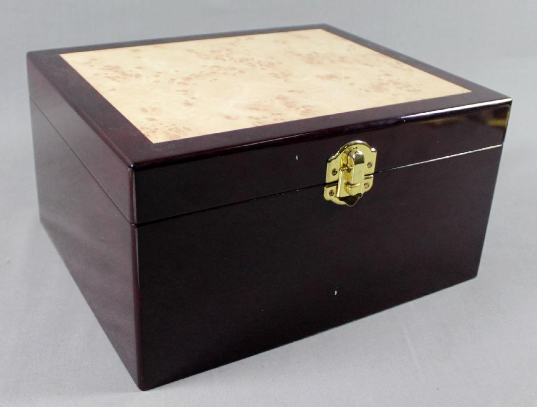 Burlwood Jewelry Box
