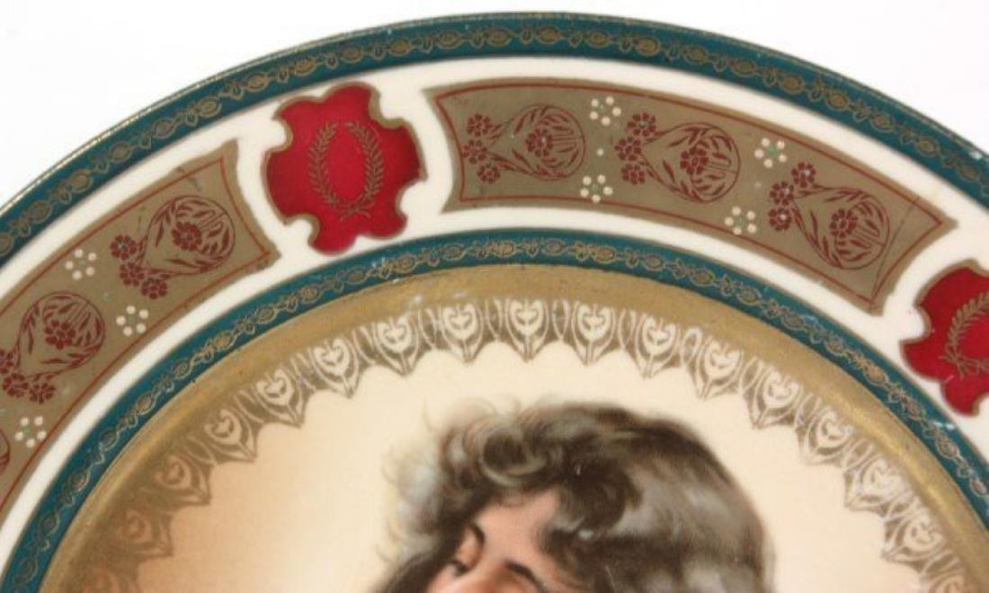 Royal Vienna Porcleain Plate - 3