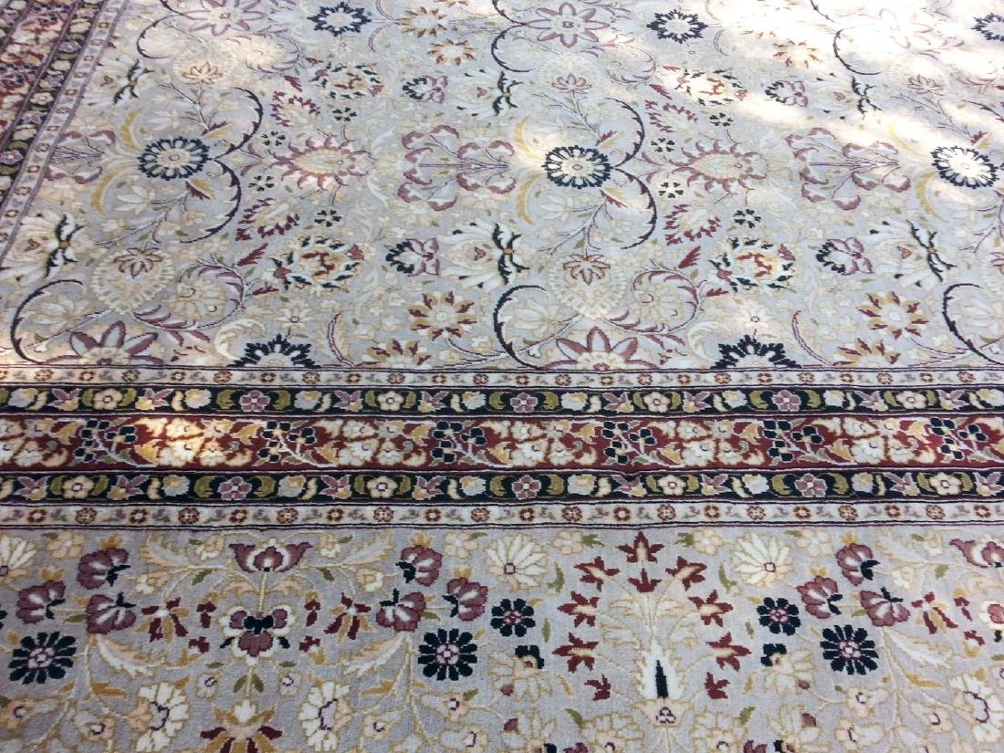 An Indo-Persian 70 Knotted Carpet - 2