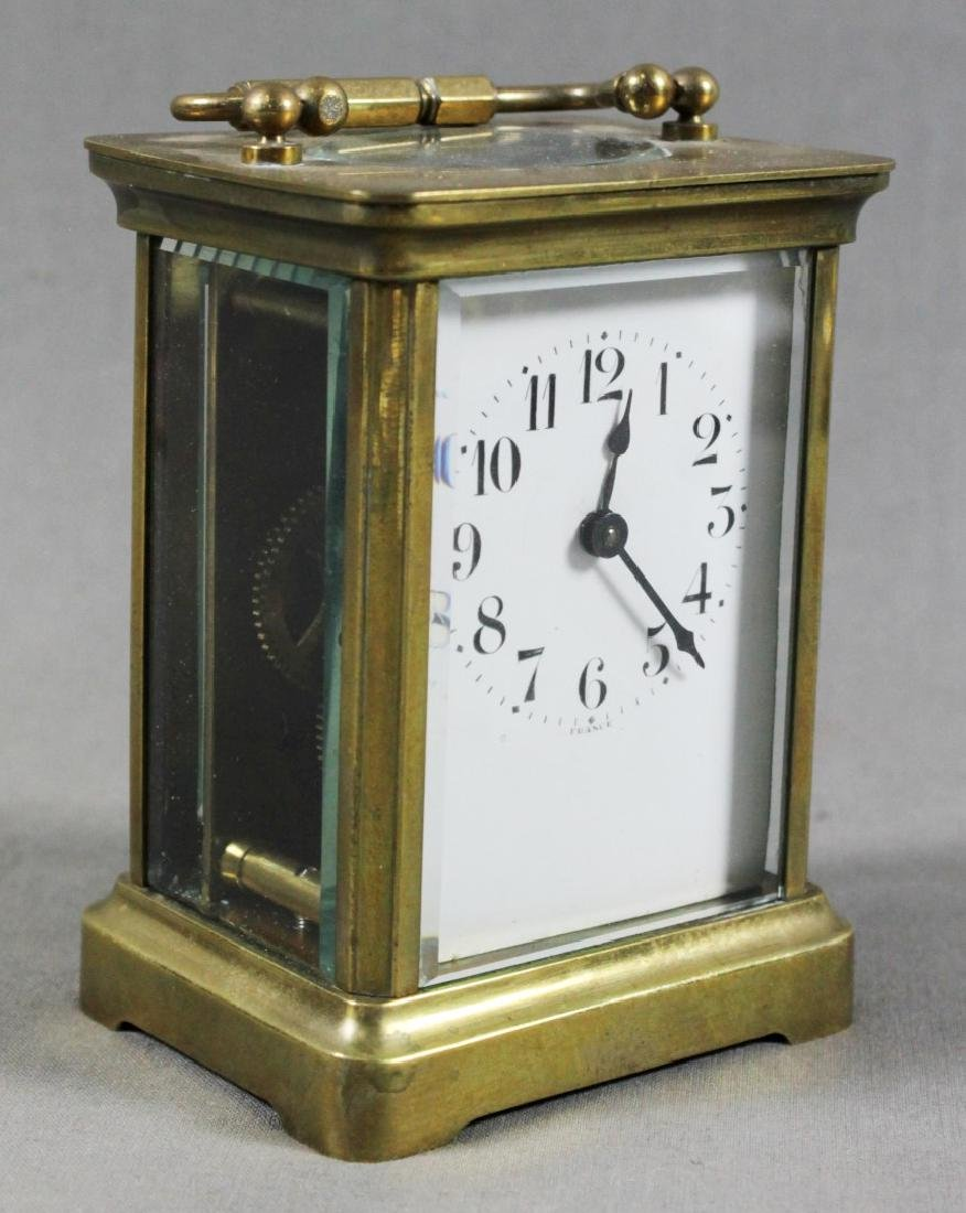 French Brass Carriage Clock