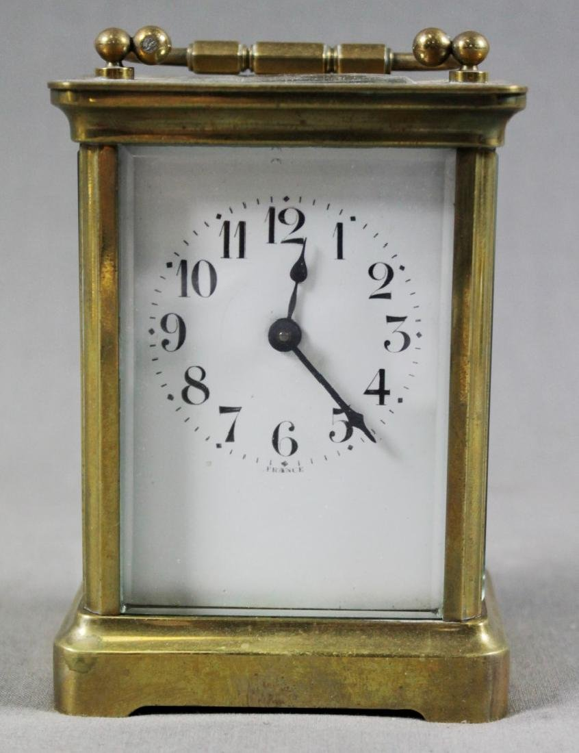 French Brass Carriage Clock - 2