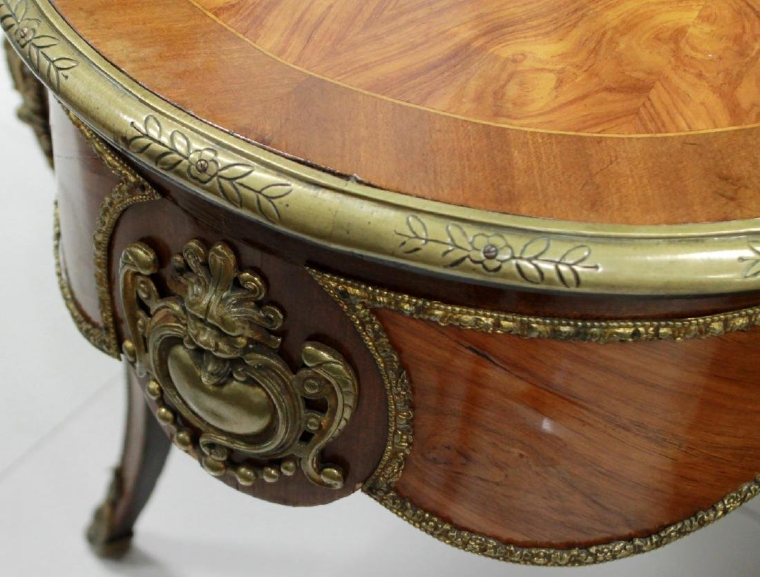 French Inlaid Center Table - 3