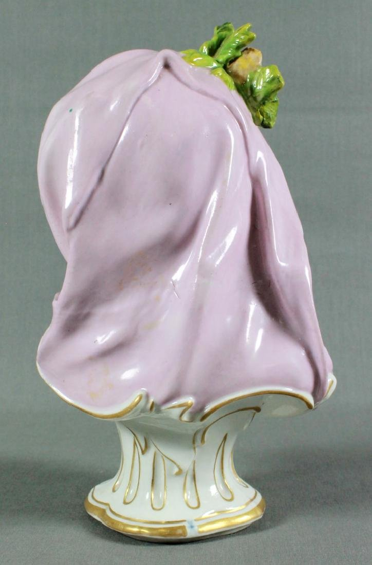 Continental Porcelain Kinderbusts Emblematic Of The - 2