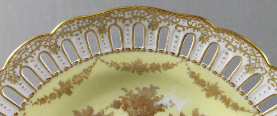 Royal Vienna Reticulated Plate - 3