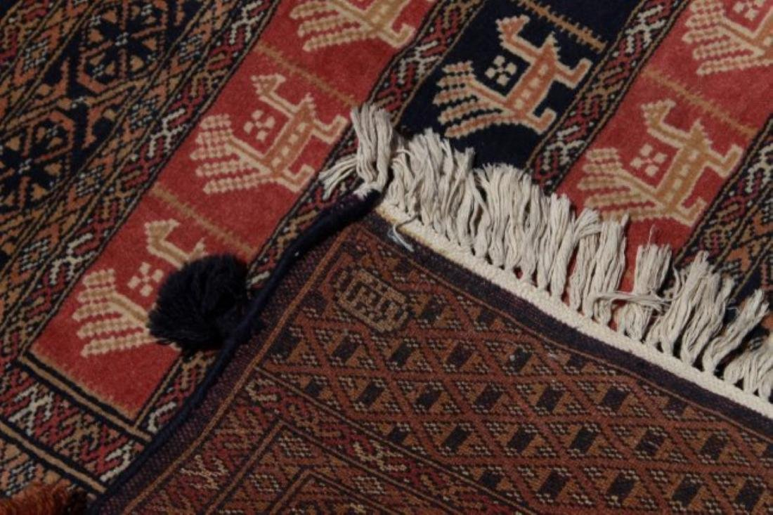Bokhara Afghan Rug - 4