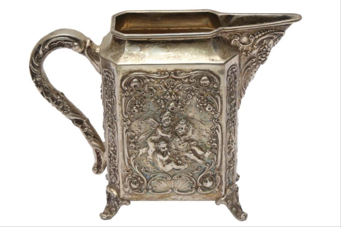 Large German Silver Coffee/Tea Set - 3