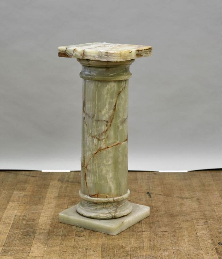 Carved Stone Pedestal