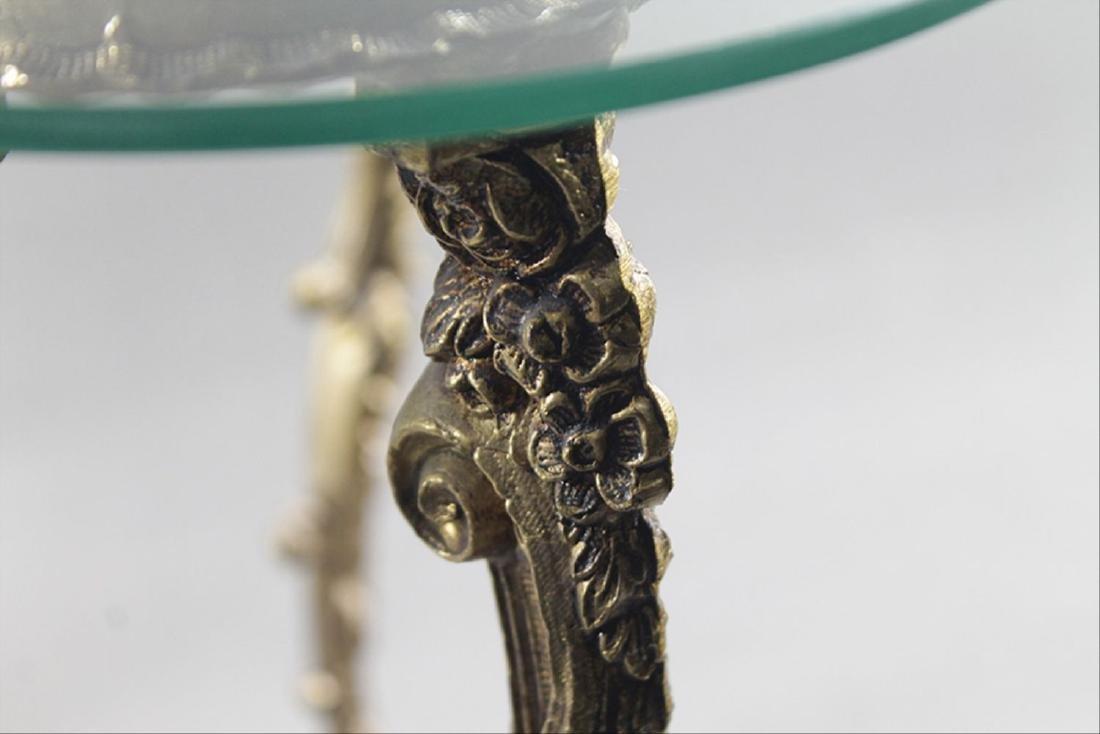 Gilt Metal Lamp Table - 2