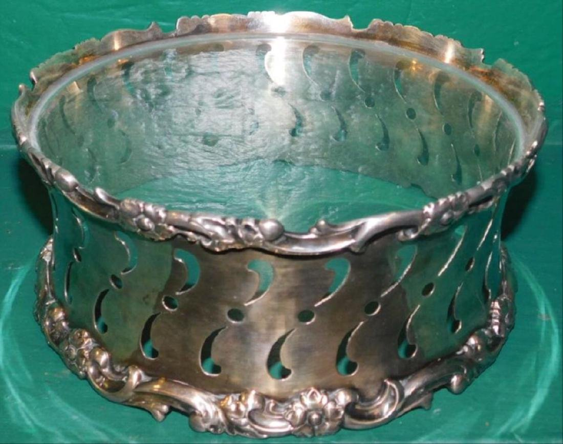 Tiffany & Co. Silverplate Plate Stand