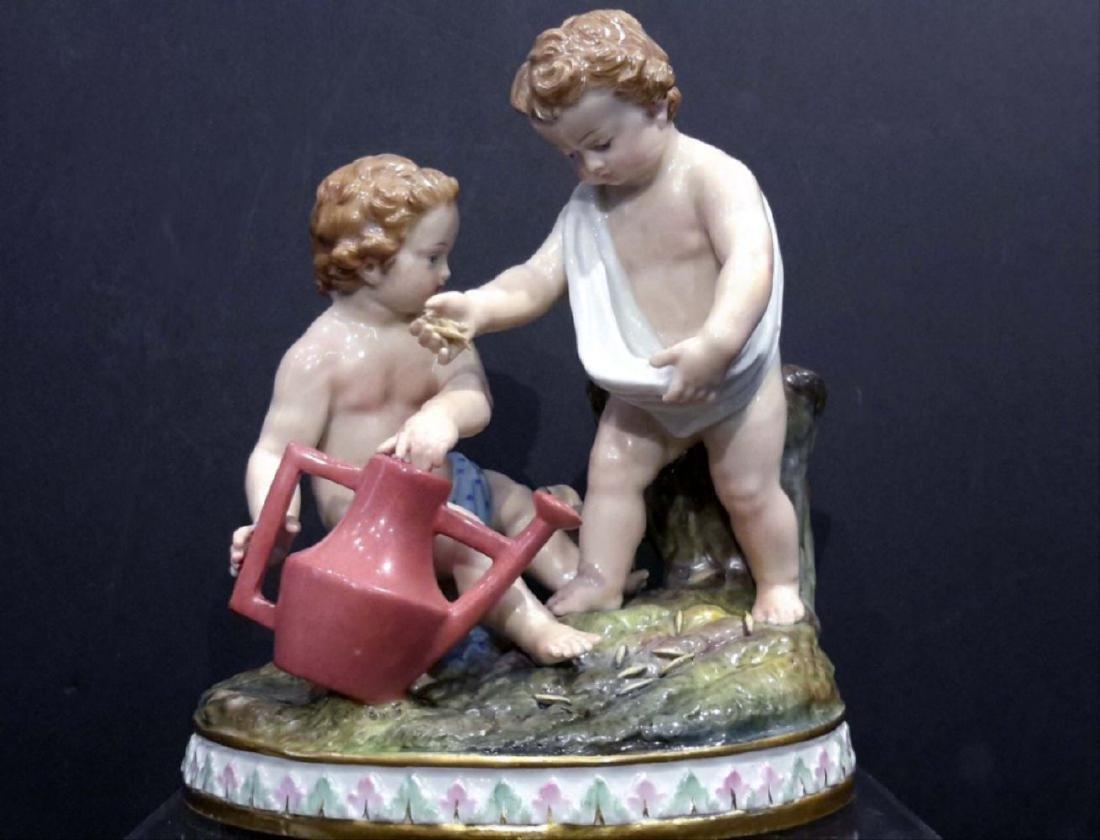 Meissen Porcelain Group 19C