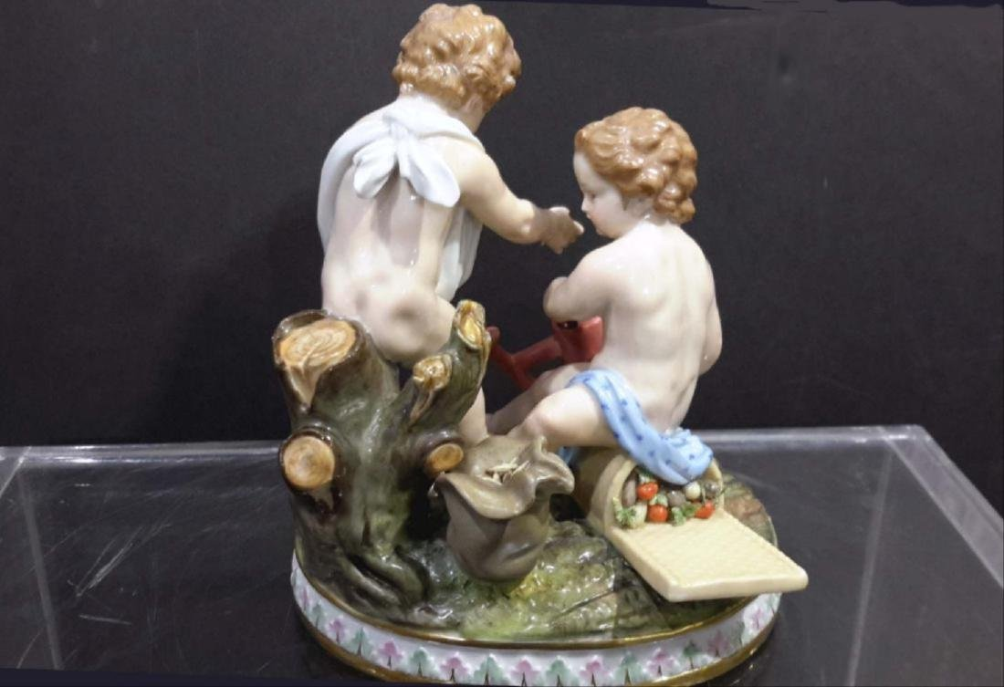 Meissen Porcelain Group 19C - 5
