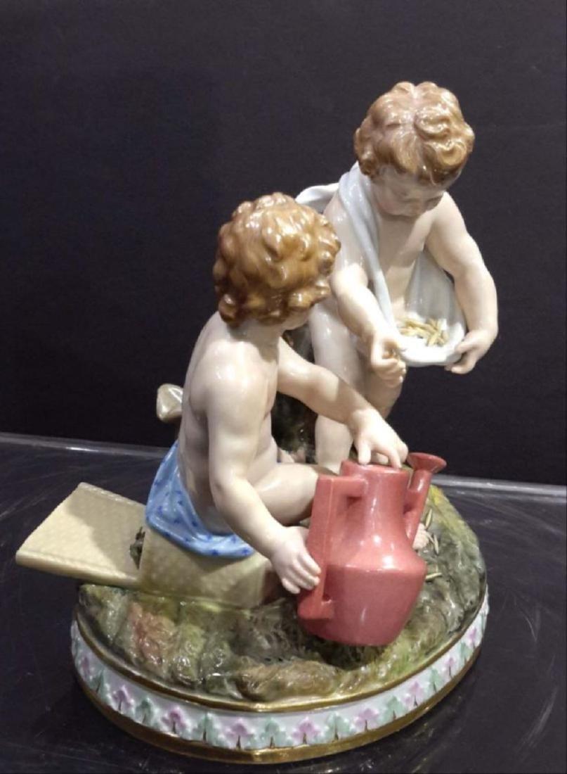 Meissen Porcelain Group 19C - 6