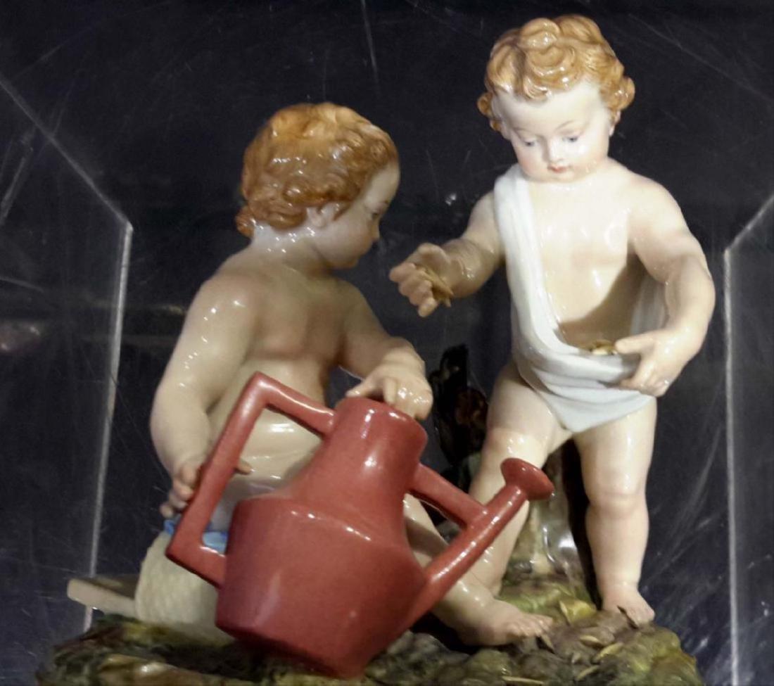 Meissen Porcelain Group 19C - 7