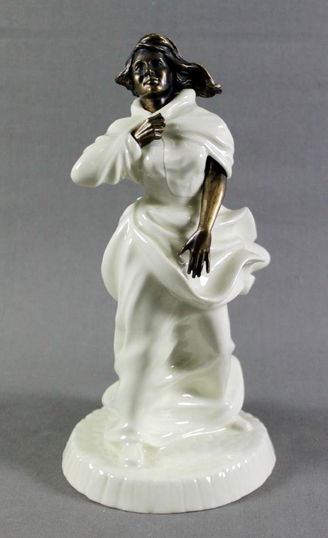 "Minton Porcelain And Bronze Figure""Sea Breezes"""