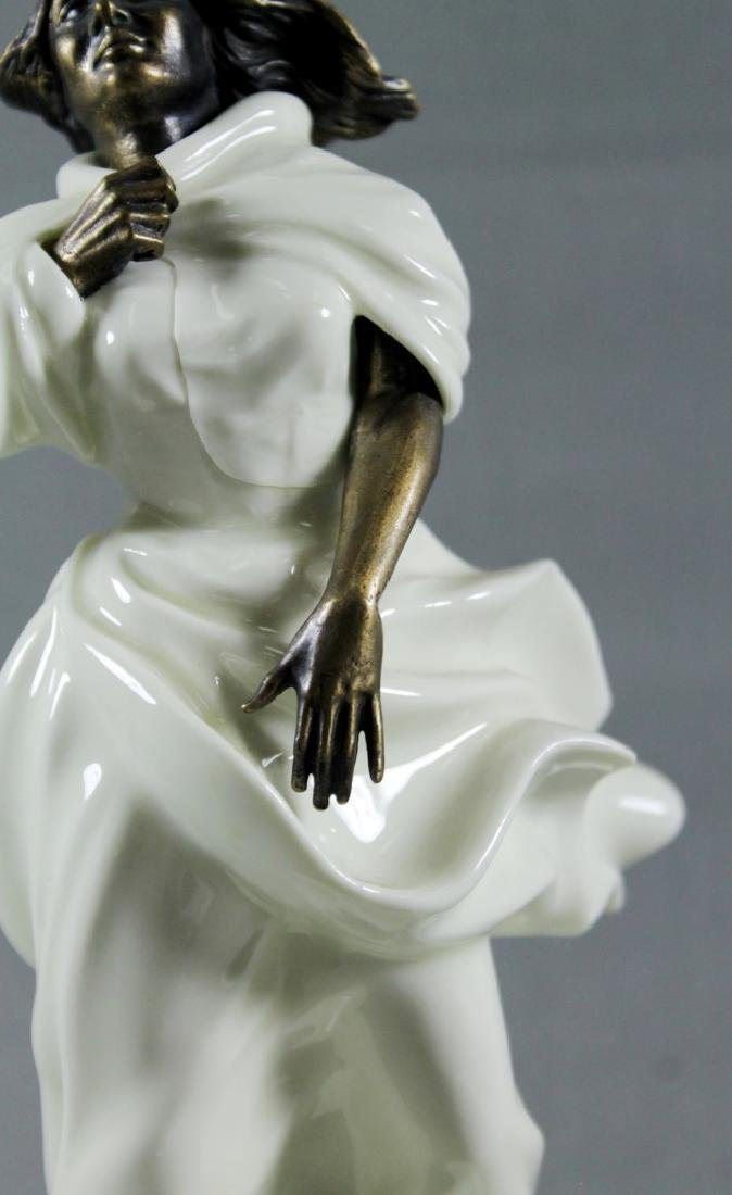 "Minton Porcelain And Bronze Figure""Sea Breezes"" - 3"
