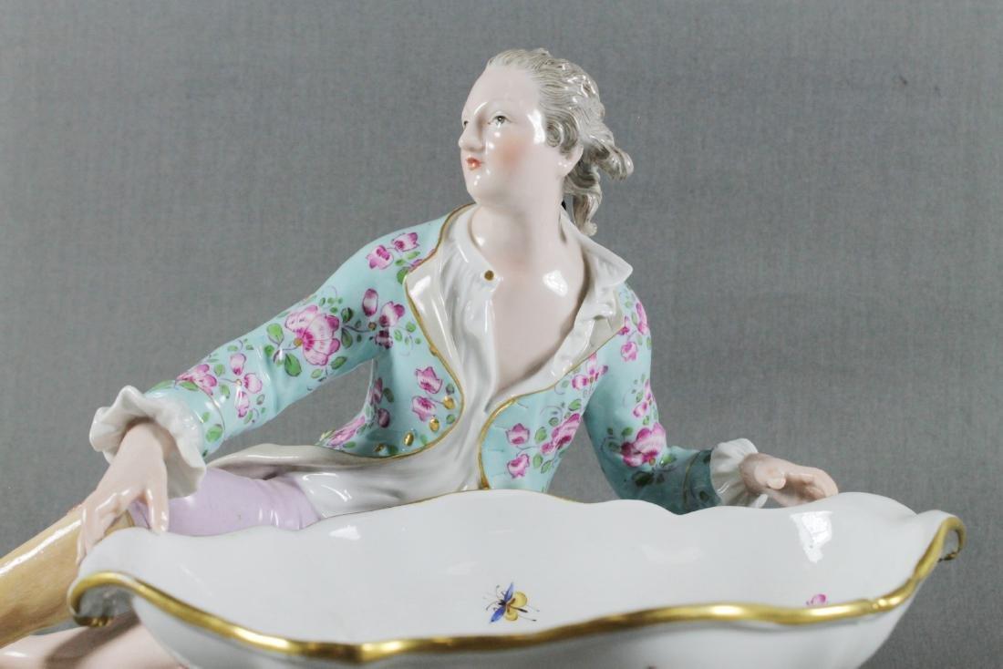 Meissen Sweet Dish Figure - 2