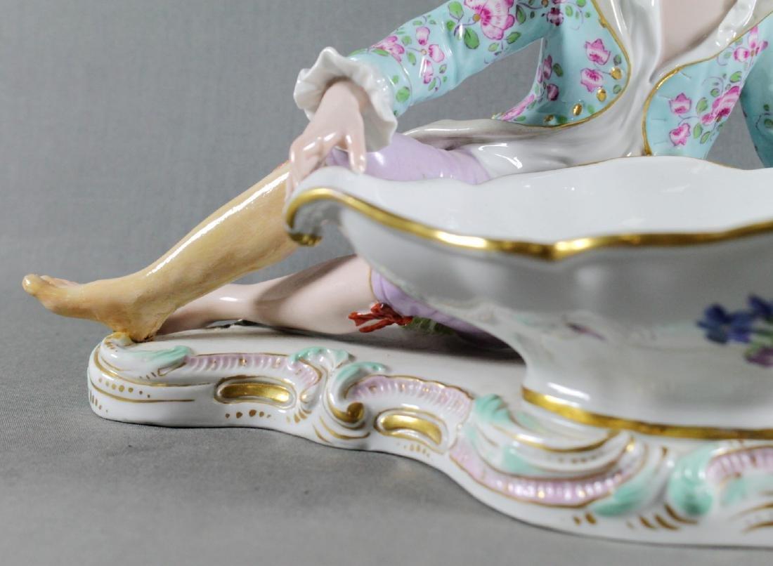 Meissen Sweet Dish Figure - 3
