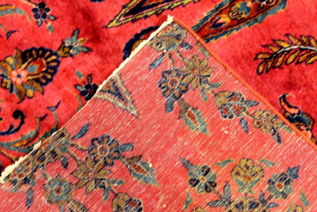 Antique Kashan Manchester Rug Iran - 4