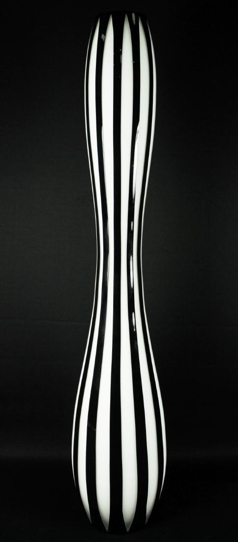Pair Of Bohemian Overlay Art Deco Vases - 3