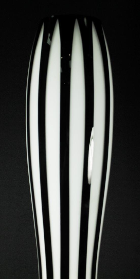 Pair Of Bohemian Overlay Art Deco Vases - 4