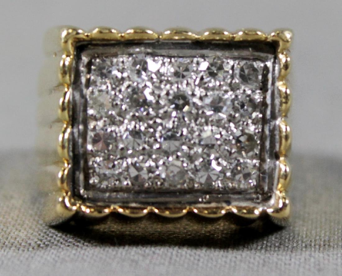 Gold And Diamond Ring - 3