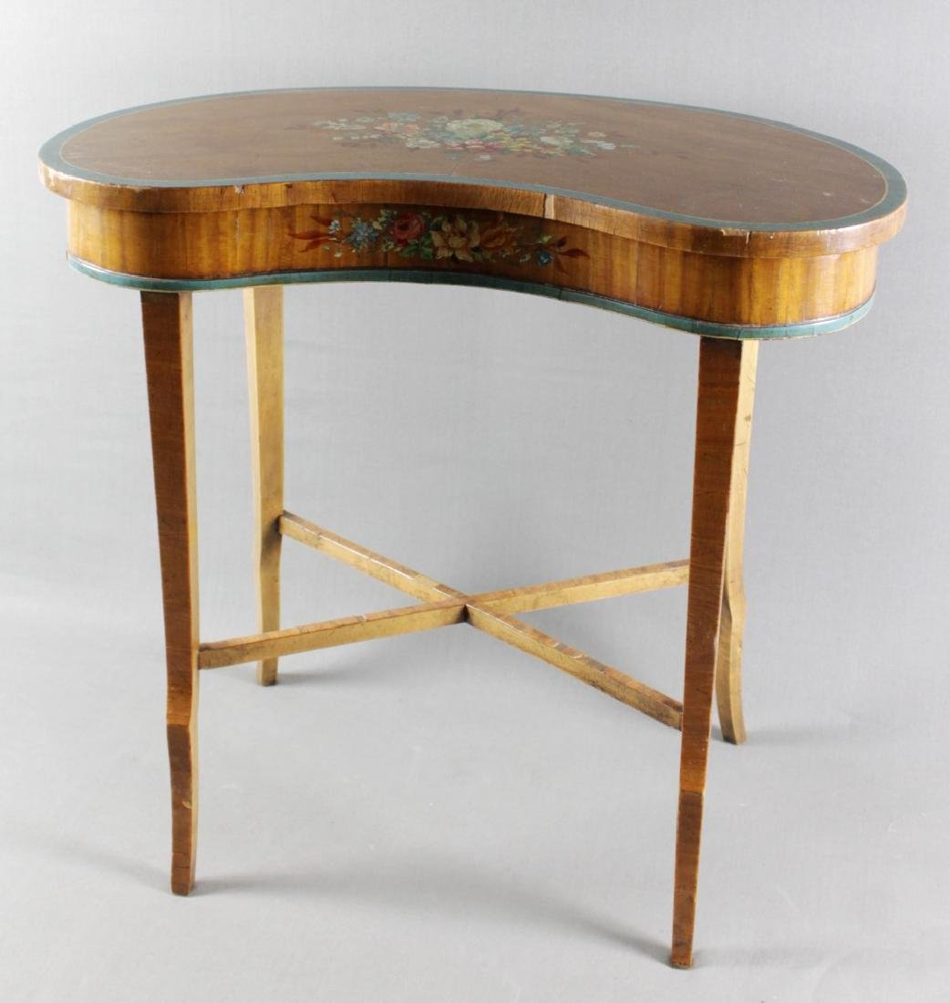 Small Painted Top Table Stand