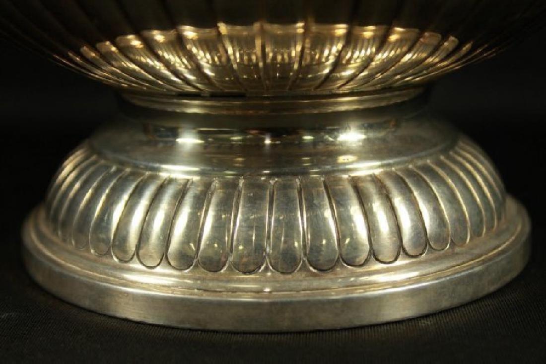 English Silver Inlaid Bowl - 2