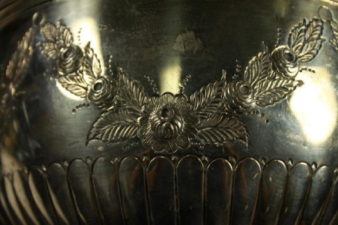 English Silver Inlaid Bowl - 3